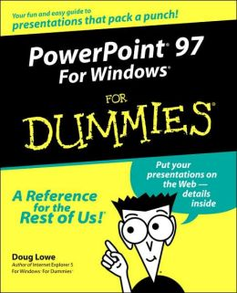PowerPoint 97 For Windows For Dummies
