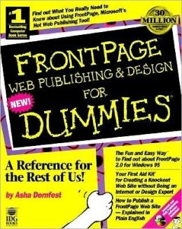 FrontPage Web Publishing & Design for Dummies