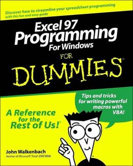 Excel 97 Programming for Windows For Dummies