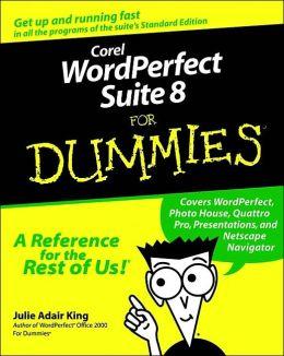Corel WordPerfect Suite 8 For Dummies