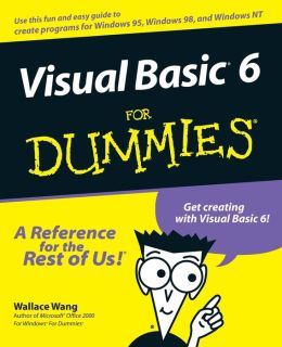 Visual Basic6 For Dummies