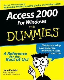 Access 2000 For Windows