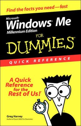 Microsoft Windows Me For Dummies: Quick Reference