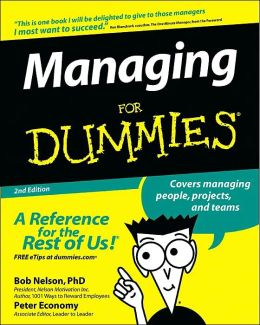 Managing For Dummies