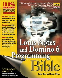 Lotus Notes and Domino 6 Programming Bible