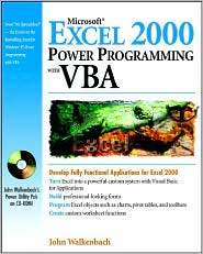 Microsoft Excel 2000 Power Programming with VBA