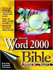 Microsoft Word 2000 Bible: Quick Start