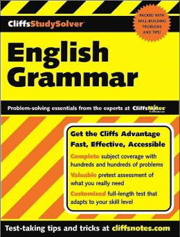 Cliffs Study Solver: English Grammar