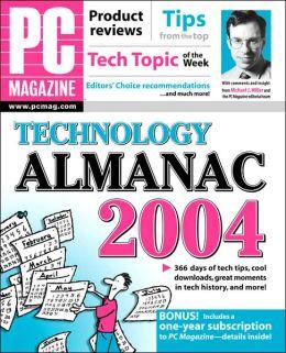 PC Magazine Technology Almanac 2004