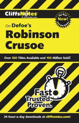 CliffsNotes on Defoe's Robinson Crusoe