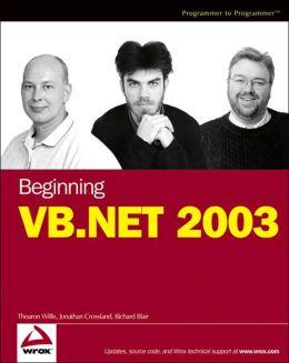 Beginning VB.NET 2003