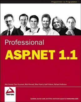 Professional ASP.NET 1.1
