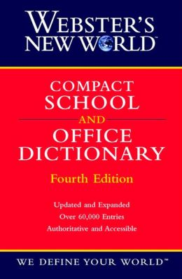 Webster's New World Compact School and Office Dictionary