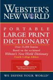 Book Cover Image. Title: Webster's New World Portable Large Print Dictionary, Second Edition, Author: Webster's New World Editors