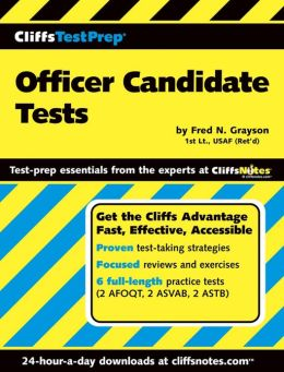 CliffsTestPrep Officer Candidate Tests