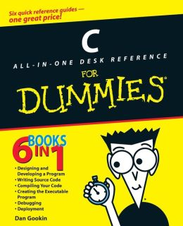 C: All-in-One Desk Reference for Dummies