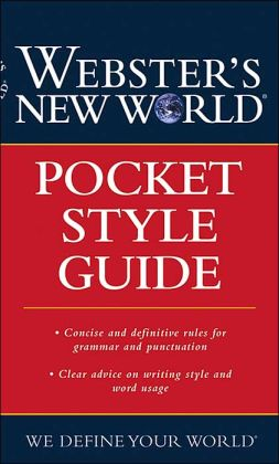 Webster's New World Pocket Style Guide CUSTOM