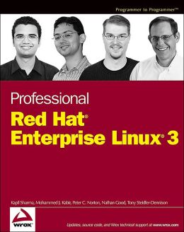 Professional Red Hat Enterprise Linux 3 (Programmer to Programmer Series)
