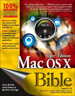 Mac OS X Bible Tiger Edition
