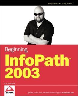Beginning InfoPath 2003