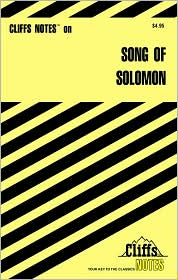 CliffsNotes Song Of Solomon