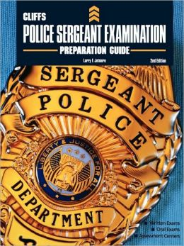 CliffsTestPrep Police Sergeant Examination Preparation Guide