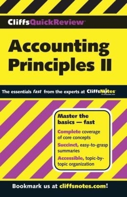 CliffsQuickReview Accounting Principles II