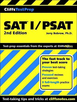 CliffsTestPrep SAT I/PSAT Preparation Guide
