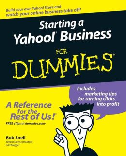 Starting a Yahoo! Business for Dummies