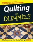 Book Cover Image. Title: Quilting For Dummies, Author: Cheryl Fall