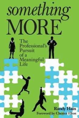 Something More the Professional's Pursu: The Professional's Pursuit of a Meaningful Life