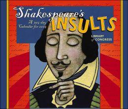 2005 Shakespeare's Insults Box Calendar