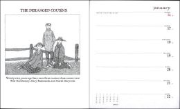 2006 Edward Gorey: Neglected Murderesses and the Deranged Cousins Engagement Calendar