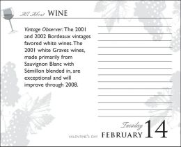 2006 All About Wine Box Calendar