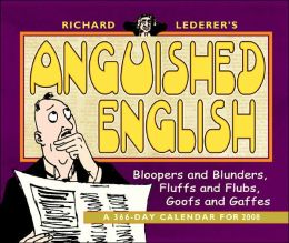 2008 Anguished English Box Calendar