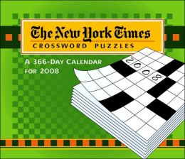 2008 New York Times Crossword Puzzles Box