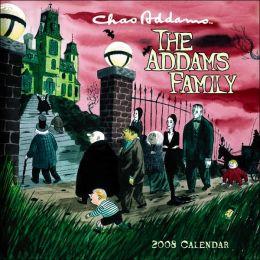 2008 Charles Addams: The Addams Family Mini Wall Calendar