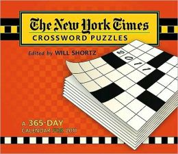 2011 NY Times Crossword Puzzles Box Calendar