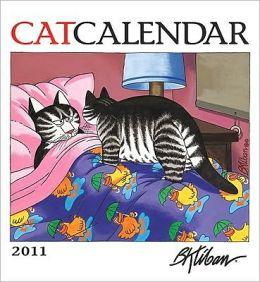 2011 Kliban Catcalendar Wall Calendar
