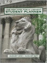2011 New York Public Library Student Planner