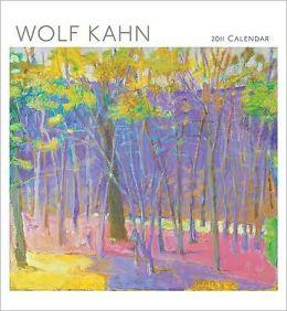 2011 Wolf Kahn Wall Calendar