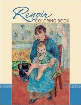 Renoir Coloring Book