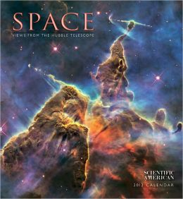 2012 Space Wall Calendar