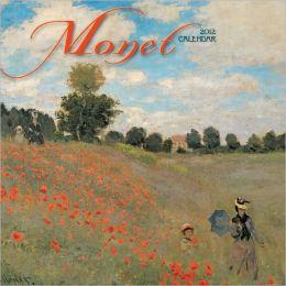 2012 Claude Monet Mini Wall Calendar