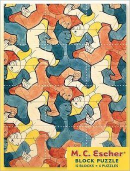 M C Escher Block Puzzle