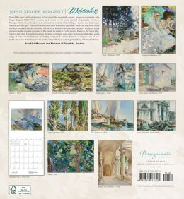 2014 Sargent/Watercolors Wall Calendar