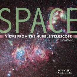 2014 Space Mini Wall Calendar