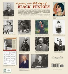 2014 365 Days Of Black History Wall Calendar