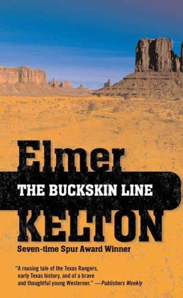 The Buckskin Line (Texas Rangers Series #1)