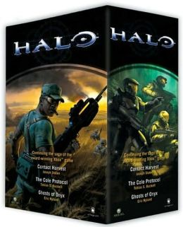 Halo Boxed Set (Halo: Contact Harvest, Halo: The Cole Protocol, Halo: The Ghost of Onyx)